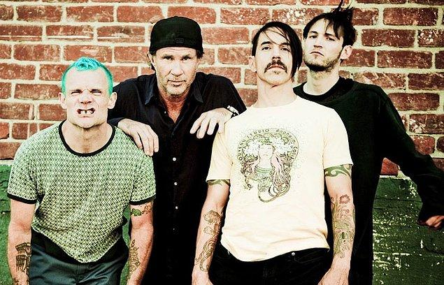 9. Red Hot Chili Peppers