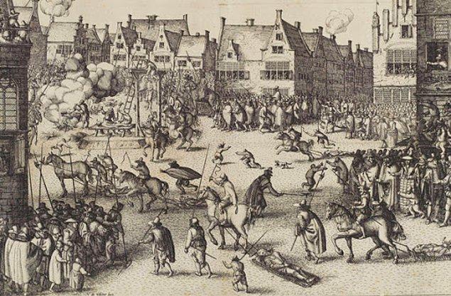 William Wallace'ın acı idamı