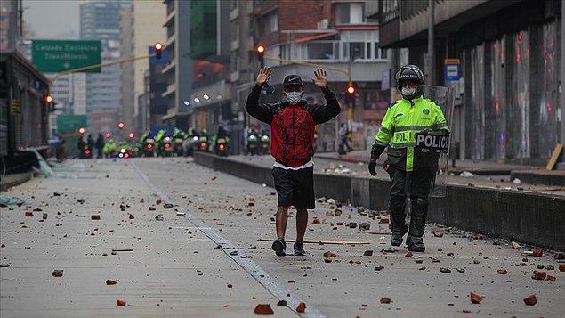 """Eylemlerin arkasında Maduro var"""