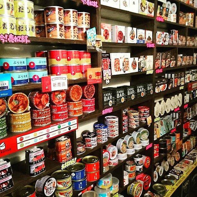 24. Japonya'da sadece konserve yiyeceklerin verildiği restoranlar bulunuyor.