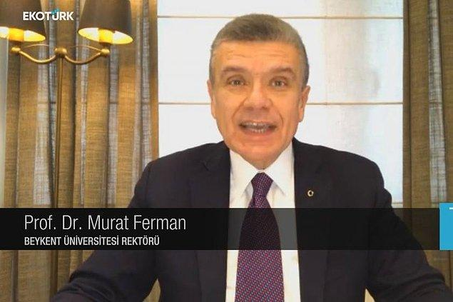 Ferman, Ekotürk canlı yayınında enflasyona dair konuşurken şu ifadeleri kullandı:
