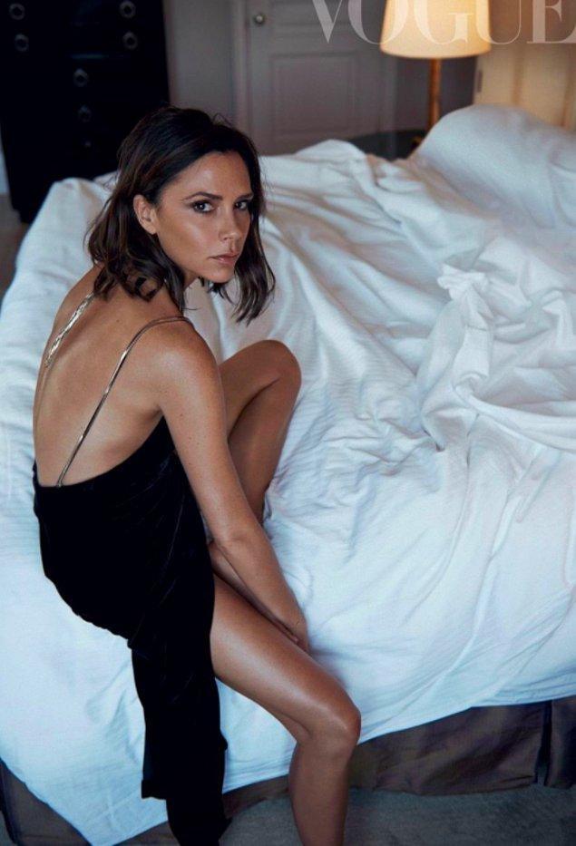 2. Victoria Beckham - Bacaklar
