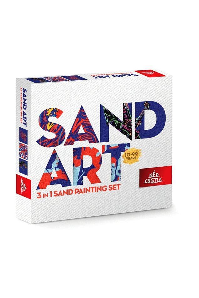 15. Çocukların bayıldığı Sand Art artık yetişkinler içinde üretiyor.