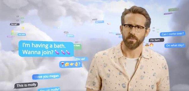 Mesajda ise 'Banyo yapıyorum. Katılmak ister misin? 🍆🍆🍆🍆' yazıyormuş.