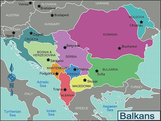 Senin kökenin Balkanlar'dan geliyor!