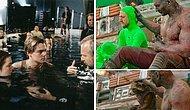 25 закулисных  фотографий, раскрывающие уловки и секреты, которые кинорежиссеры использовали в известных фильмах