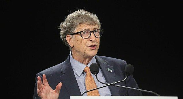 Son 1 yılda en fazla gündemin malzemesi olan kişi herhalde Bill Gates.