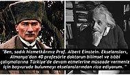 Einstein'ın 'Dünyanın En Büyük Lideri' Dediği Atatürk ile Yollarının Kesişmesinin İlginç Hikayesi