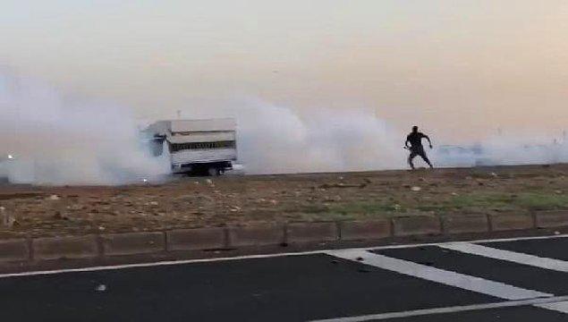 Jandarma müdahale etti