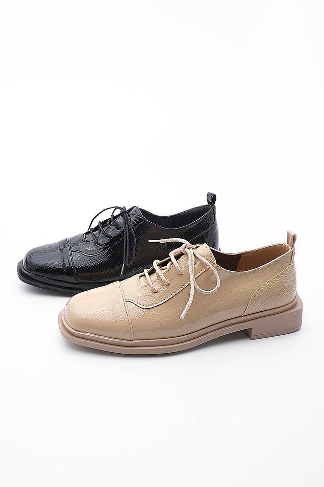6. Oxford ayakkabı sevenler bu modele bayılacak.