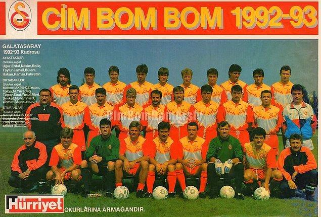 3. 1992-1993'te 66 puandaki iki takımdan Galatasaray, bu kez Beşiktaş'ı +8 averajla geçerek şampiyon oldu.