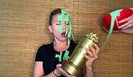 Муж Скарлетт Йоханссон облил актрису зеленой слизью во время ее выступления на церемонии вручения кинонаград MTV