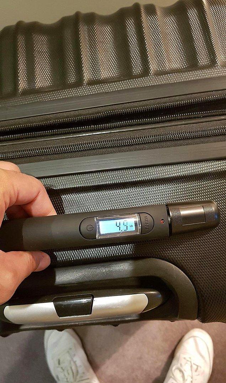 """4. """"Kendi ağırlığını ölçebilen bir valiz."""""""