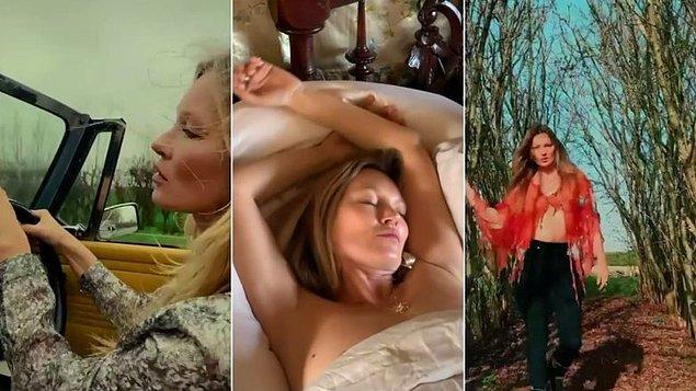 Moss, genç kızların ve kadınların ruh sağlığı için çalışan hayır kurumu 'Gurls Talk' için 3 videosunu satışa çıkardı: 'Sleep With Kate', 'Walk With Kate' ve 'Drive With Kate'
