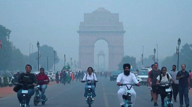 7. Dünyanın en kirli havasına sahip 30 şehrinden 21'i bu ülkede bulunuyor.