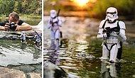 """15 лучших работ и снимков за кадром от фотографа, который снимает эпические боевые сцены """"Звездных войн"""" с помощью игрушек"""