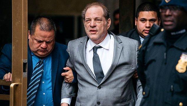1. Harvey Weinstein - Cinsel taciz