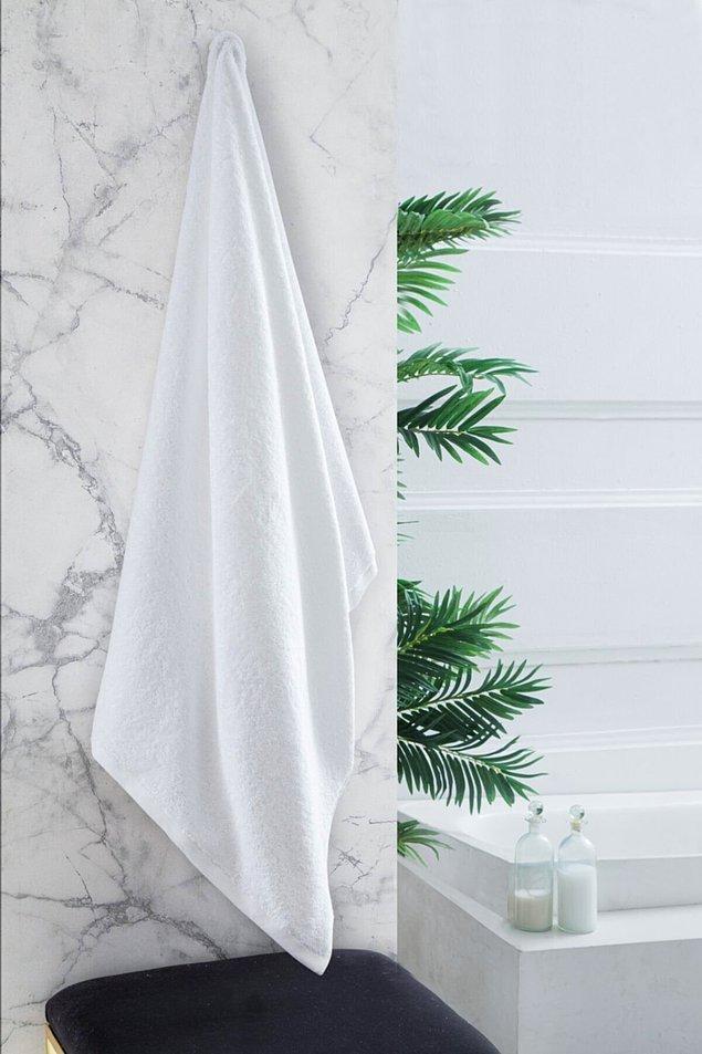 12. Ve duştan sonra mis gibi kokan bembeyaz havlulara sarınabilirsin...