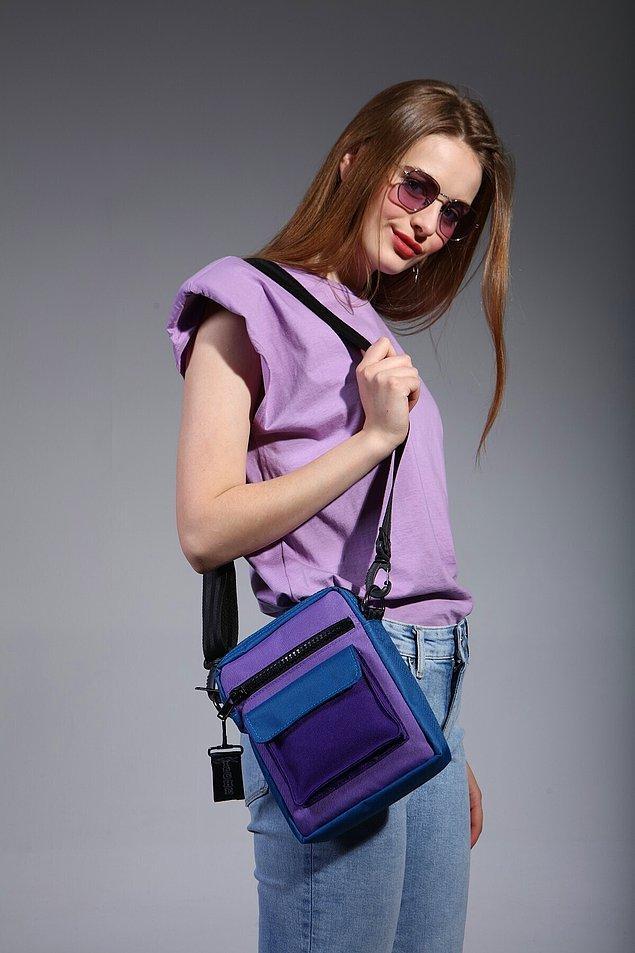 13. Farklı bir spor çanta modeli.