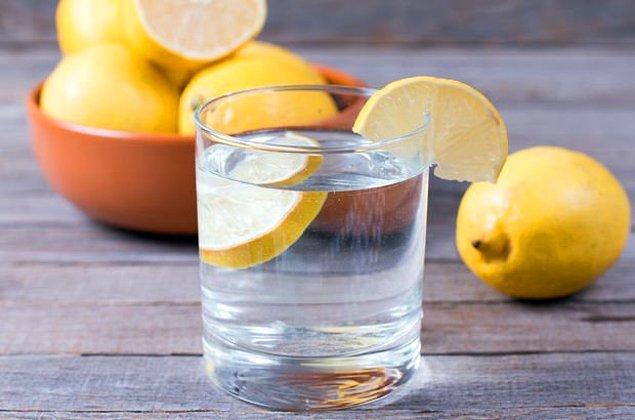 5. Zaten pek çoğumuz limonlu suyu sık sık tüketiyoruz.