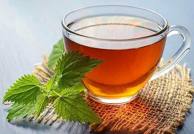 12. Mate yapraklı ısırgan otlu bitki çayı