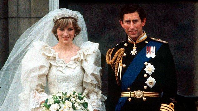 23. Prenses Diana ve Prens Charles