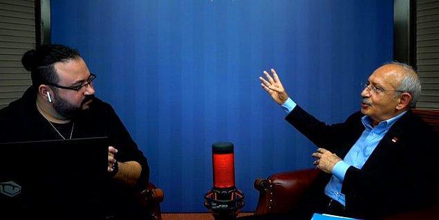 KKHA programının konuğu olan Kemal Kılıçdaroğlu gençlerden gelen soruları yanıtlamıştı.