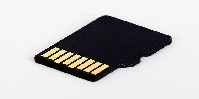 8. Micro SD hafıza kartları