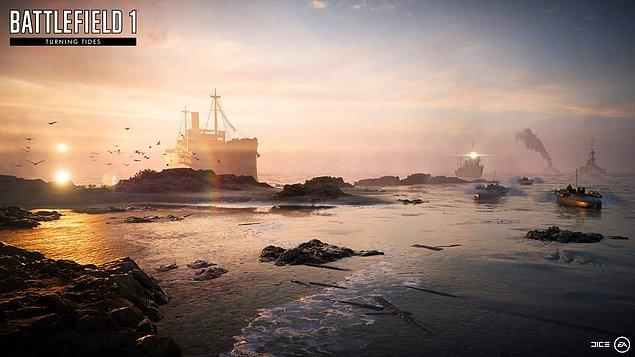 9. Battlefield 1 - Gelibolu