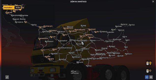 3. Euro Truck Simulator 2 - Türkiye
