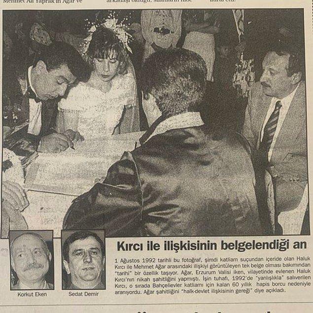Kırcı'nın nikah şahidi