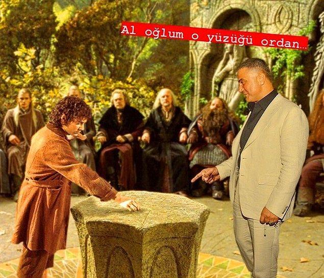 7. Kaldır o yüzüğü oradan evladım.