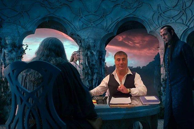 20. Gandalf senin de kayıtların geliyor.