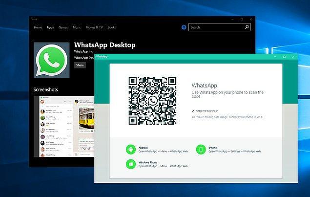 Bu özellik; mobil, WhatsApp masaüstü uygulaması ve WhatsApp Web üzerinde kullanılabiliyor.