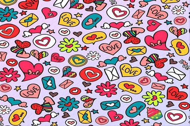 8. Bu görselde bir tane tatlı çizimi var. Onu bulabildin mi?