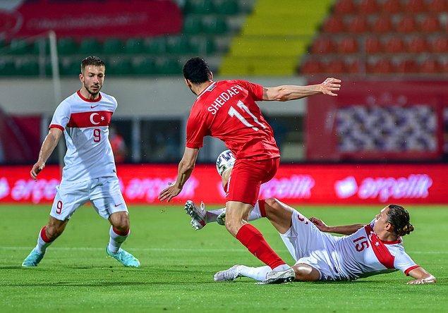 Diğer maçlar Gine ve Moldova ile olacak