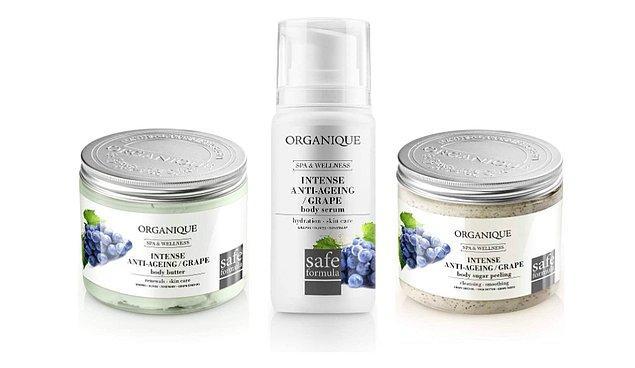 20. Organique markasının üzüm çekirdekli özel formüllü bakım setini denediniz mi?