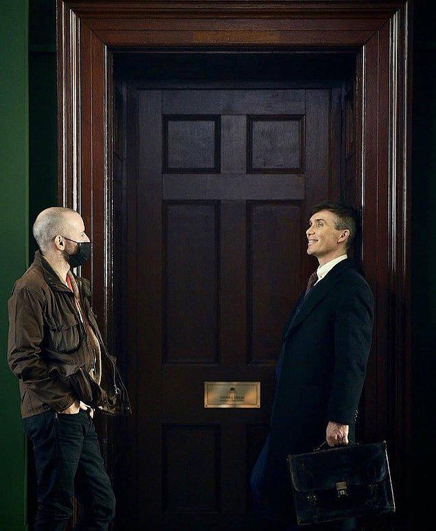 7. Peaky Blinders'ın yeni sezon çekimlerinden bir görsel yayınlandı.