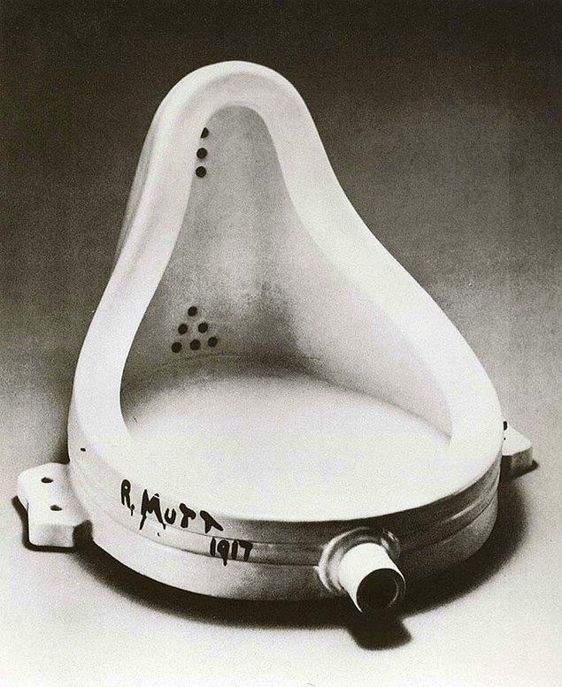 20. Baktığınız anda sanat olduğundan şüphe etmiyorsanız bu dadaizmdir.
