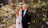 Невеста премьер-министра Великобритании Бориса Джонсона вышла замуж в платье, которое она арендовала всего за 45 фунтов стерлингов
