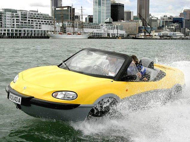 13. Suyun üstünde araba sürmek mümkün...