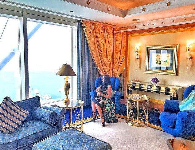 29. Geceliği 24 bin dolarlık bir otel odası.