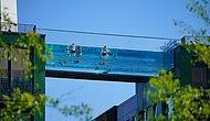 В Лондоне открылся первый в мире бассейн, построенный между 2 небоксребами