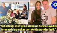 Koronavirüs Tedavisi Biter Bitmez Kendini Nikah Masasına Atan Burak Sergen Nişanlısı Nihan Ünsal ile Evlendi!