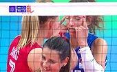 Сербская волейболистка была дисквалифицирована из-за расистского жеста во время матча против Таиланда