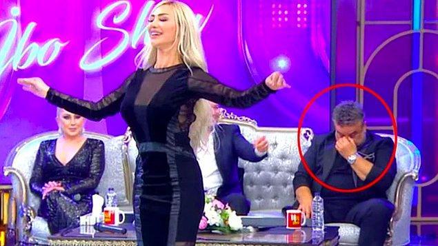 5. İbo Show'da Oryantal Didem'in şovu sırasında kafasını çevirip, dansını izlemeyen Bülent Serttaş, gitmiş cıbıl hanımefendilerle klip çekmiş.