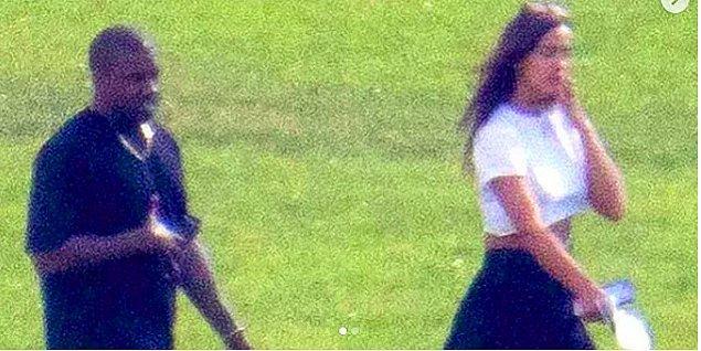11. Dedikodular ne yazık ki doğru çıktı... Kanye West ile Irina Shayk birlikte!