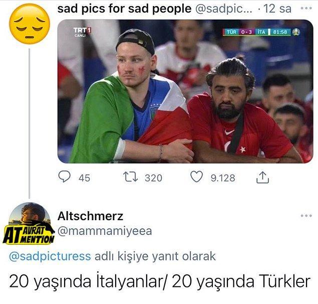 3. Türkiye'de yaşamak hiç stresli değil. -Serkan(18 Yaşında)