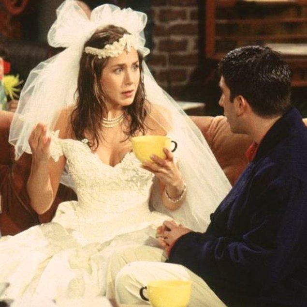 17. Rachel ve Ross - Friends