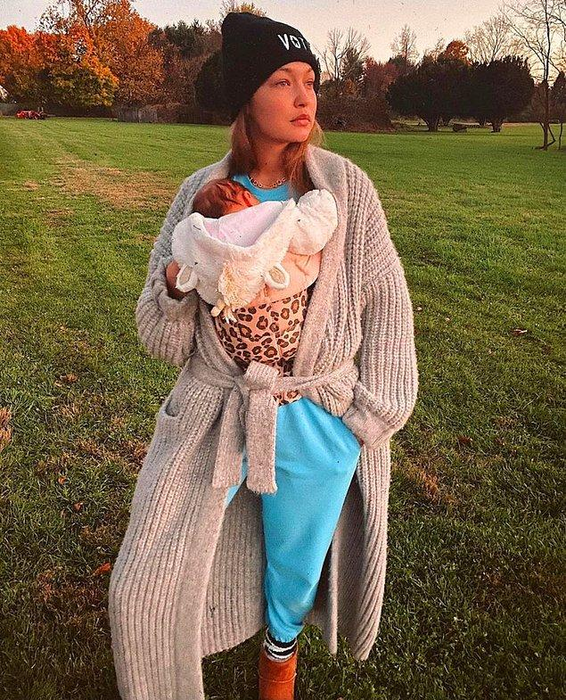 3. Gigi Hadid ve Zayn Malik'in kızlarının adı Gigi'nin babaannesinin de adı olan Khai.